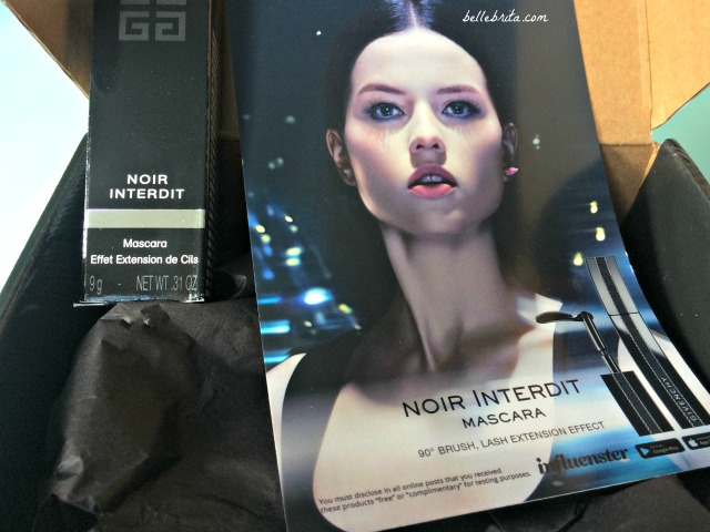 Influenster sent me Noir Interdit Mascara to try! | Belle Brita