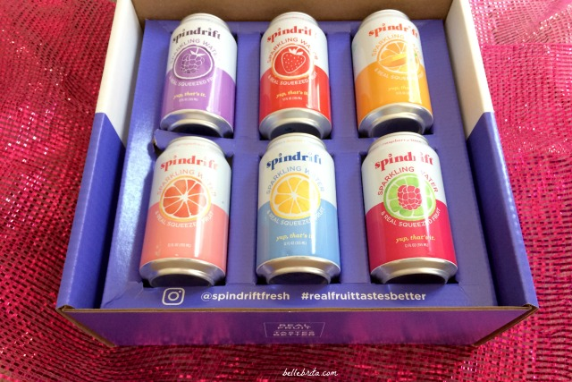 Spindrift sent me a sampler of their sparkling water to try! | Belle Brita