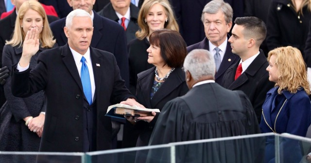 The boundaries Mike Pence sets to protect his marriage sound noble in theory... In practice, they hold women back professionally by denying female employees and colleagues the same opportunities as men. | Belle Brita #politics #glassceiling