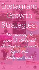 Which Instagram growth strategies work? Follow along as I build 3 separate Instagram accounts by 5,000 followers each. | Belle Brita