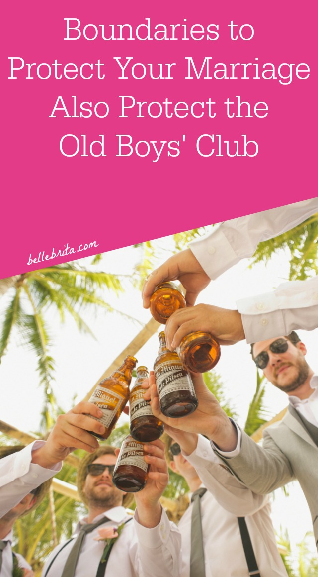 When you exclude women from one-on-one meetings or mentoring opportunities, you limit her career and maintain the old boys' club. | Belle Brita #genderequality #boundaries