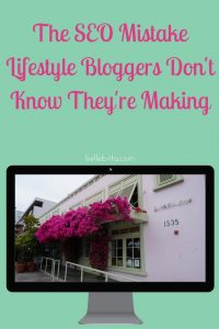 I see lifestyle bloggers make the same SEO mistake over and over. If you don't know how to use nofollow links--you're probably making the same SEO blunder! | Belle Brita