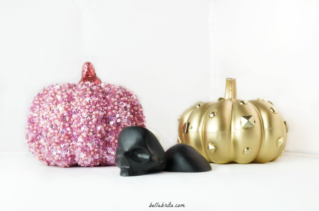 Apollo sent me this Capital Vices skull lip balm to review. (Sparkly pumpkins my own). | Belle Brita