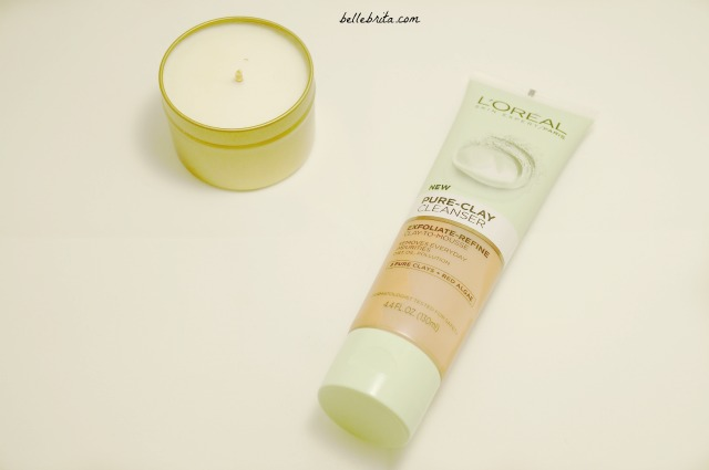 Influenster sent me this L'Oreal clay cleanser to review. | Belle Brita