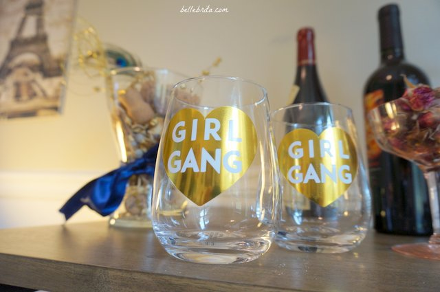 Need a unique stocking stuffer under $25? Check out these fun wine glasses from Ankit! | Belle Brita