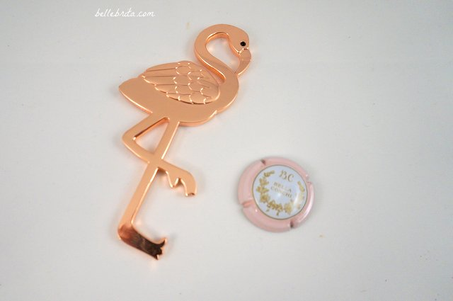 This flamingo bottle opener is the cutest of stocking stuffers! | Belle Brita