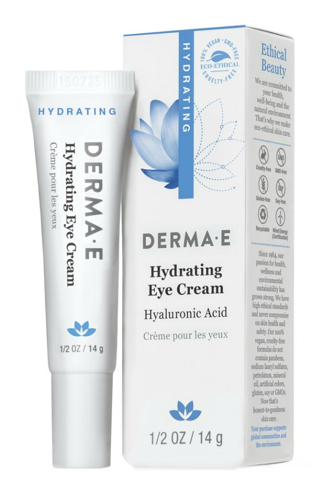 What stocking stuffer do you want this holiday season? I want a tube of DERMA E Hydrating Eye Cream! | Belle Brita