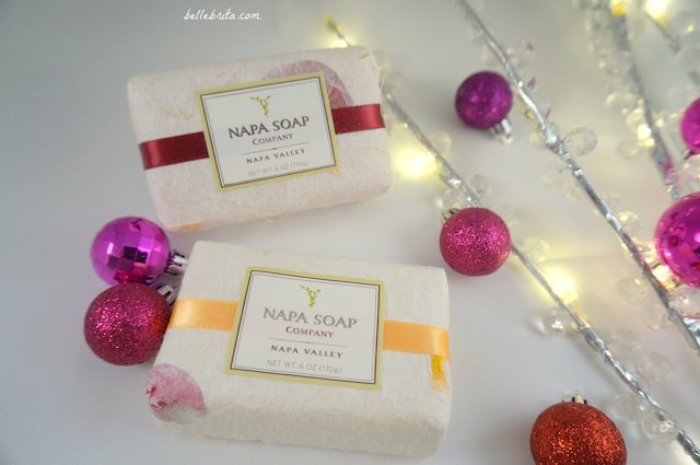 For a truly unique stocking stuffer, buy Cabernet Soapignon or Mandarin Chardonnay bar soaps from Napa Valley! | Belle Brita