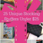 25 Unique Stocking Stuffers Under $25