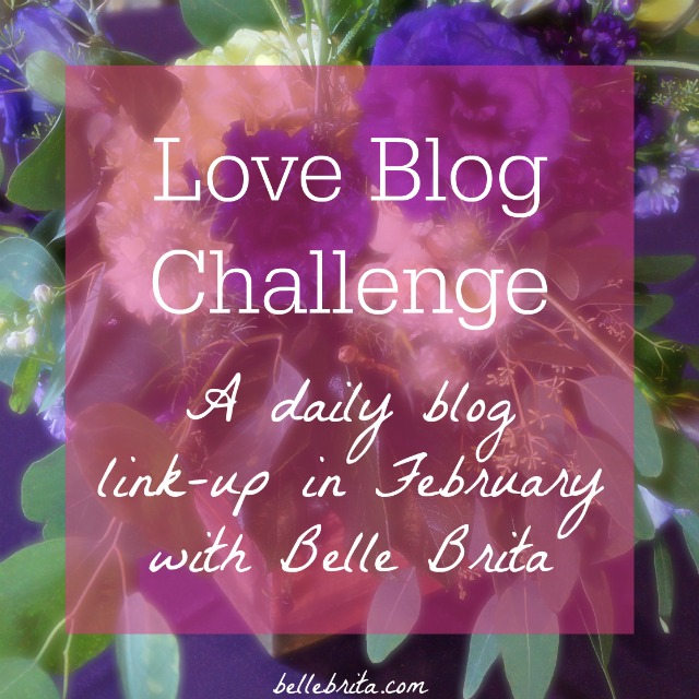 In February, blog every weekday, inspired by prompts based on the value of relationships: romantic, platonic, familial, and more. Do you feel the love? | Belle Brita