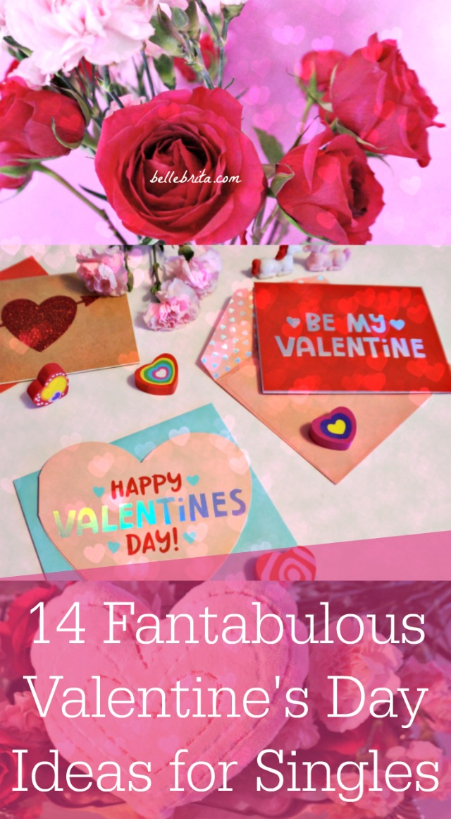 No date for Valentine's Day? No problem! Try one of these fun Valentine's Day ideas for singles instead! | Belle Brita #friendship #valentines
