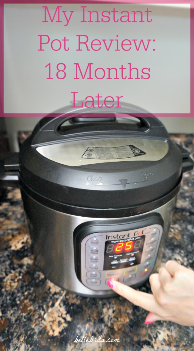 Is an Instant Pot right for you? After owning mine for 18 months, I've finally shared everything in this Instant Pot review, including my favorite uses and reasons why it might NOT be the kitchen appliance for you. | Belle Brita #slowcooking