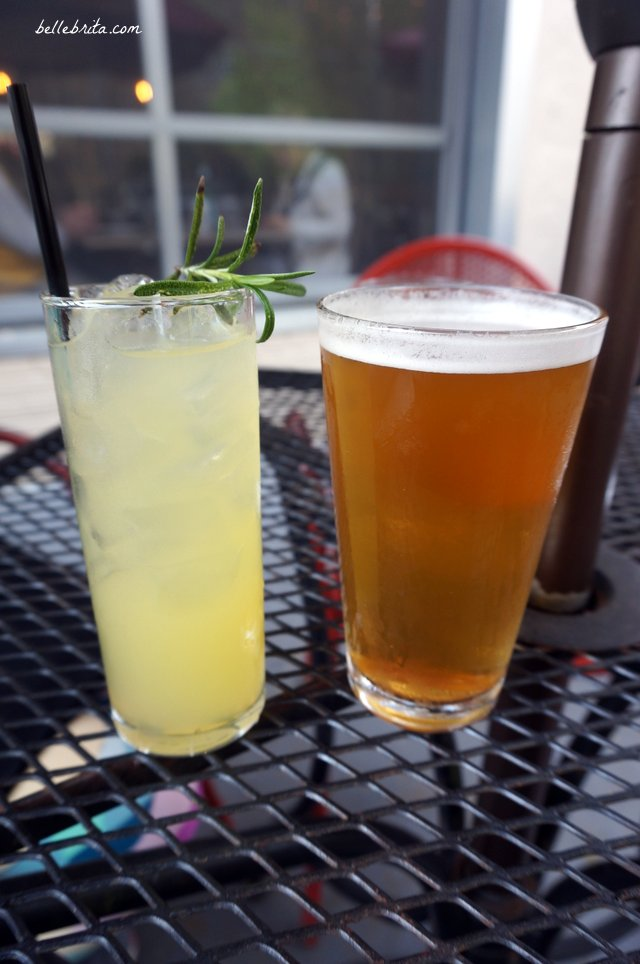 Usually my husband and I don't order alcoholic drinks when we're out, but we splurged on date night! | Belle Brita