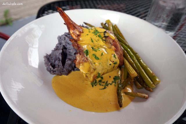 The special on St. Patrick's Day was rabbit in a mustard sauce at Sprig Restaurant. | Belle Brita