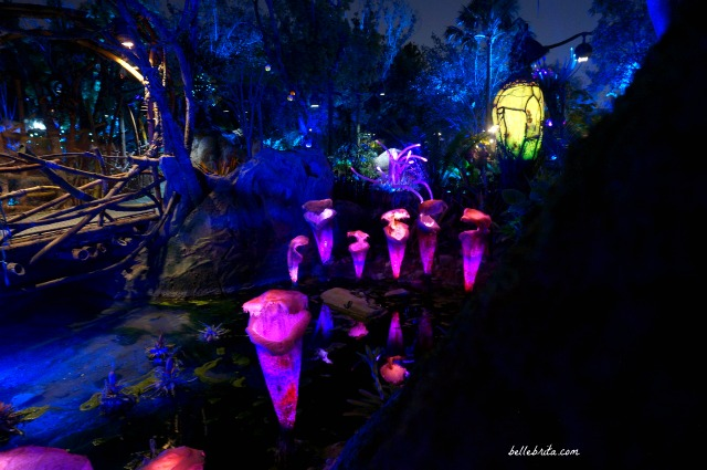 The pink bioluminescent plant life in Pandora - World of Avatar are simply unbelievable. | Belle Brita