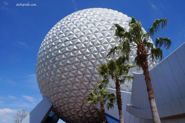 I love visiting EPCOT. The sight of Spaceship Earth makes me happy every time! | Belle Brita