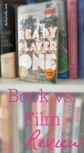 Ready Player One, the novel | Do you prefer the novel or the film adaptation of Ready Player One? My husband and I read the book and then watched the movie. This review contains spoilers! #bookreview