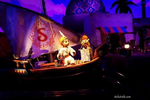 Sindbad and Chandu on a ship | Sindbad's Storybook Voyage is an incredible ride in Tokyo Disney Sea! | Belle Brita