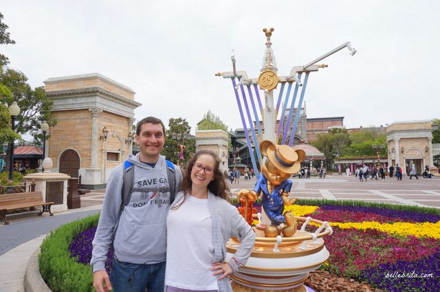 Tokyo DisneySea Golden Mickey American Waterfront | My husband and I loved our day at Tokyo DisneySea! | Belle Brita