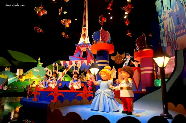 Tokyo Disneyland It's a Small World Cinderella and Prince Charming | Belle Brita