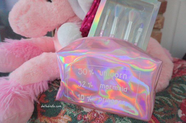 These iridescent beauty accessories are just what every mermaid and unicorn want this holiday season! | Belle Brita