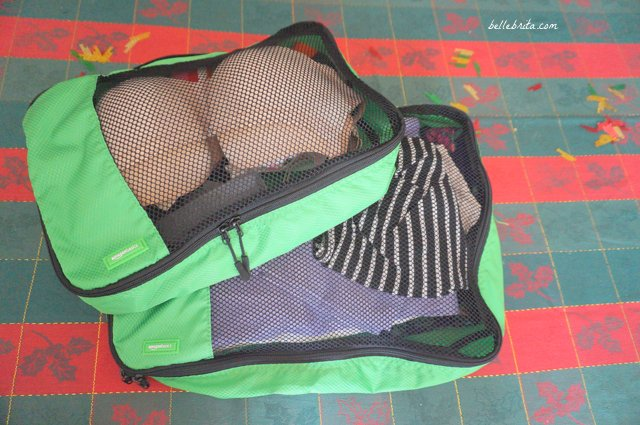 Travel packing cubes are a great gift for travel-lovers! These packing cubes are so convenient for any trip, whether it's a weekend getaway or a month-long adventure! | Belle Brita