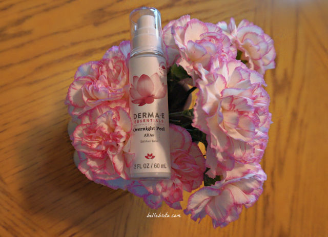 DERMA E's Overnight Peel is ideal for anyone new to AHAs. It's also great for sensitive skin. | Belle Brita