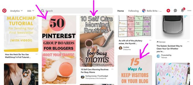 Use Pinterest to find lifestyle blog post topics! | Belle Brita