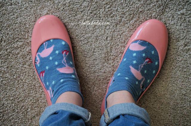 Pink Ballet Flats, Oka-B