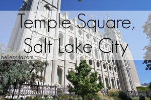 If at all possible, visit Temple Square in Salt Lake City