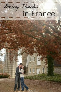 Some of my best Thanksgivings were actually in France! How do you celebrate the holiday? | Belle Brita