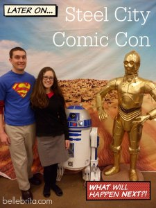 We had an amazing time at the Steel City Comic Con! A great weekend of nerding out.