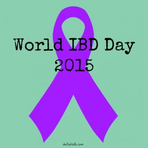 For World IBD Day, let's talk about Crohn's Disease and Ulcerative Colitis.