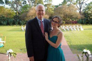 I'm so glad my dad could attend my best friend's wedding! | Belle Brita