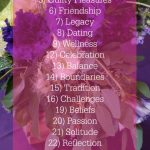 Get Ready for Love Blog Challenge, a Daily Blog Link-up