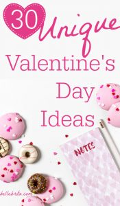 This February, try something a little different with your sweetie! This detailed list of unique Valentine's Day ideas will inspire you to create a fabulous date for you and your significant other. | Belle Brita #LoveBlog2019 #dateideas #valentinesday