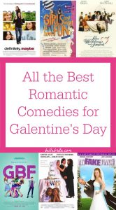 Celebrate Galentine's Day with the perfect girls' night. Curl up with some popcorn and watch one of the best romantic comedies! I've put together the best romcoms on Netflix, Amazon Prime, and Hulu. | Belle Brita