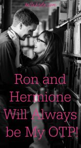 """Text overlay reads: """"Ron and Hermione Will Always be My OTP"""""""